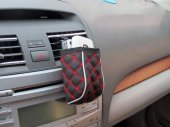 Auto / Car Soft Air Vent Phone Pouch / Storage Pocket