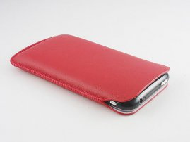 Sheepskin-Made Pouch for iPhone / iPhone 3G / 3Gs / 4s / 4