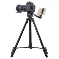 Professional SLR Tripod with Extended SmartPhone Mount for iPhone / Samsung / LG / Huawei Holder