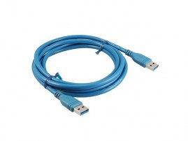 USB 3.0 Cable assembly (USB A Male to USB A Male, 1.8 meters / 6 feet)