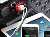Tunewear TUNEMAX 3 port Car Charger (for iPhone / iPad / iPod / Smartphones / Camera / GPS)