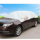 Universal All-Weather Rain / Snow / Dust Proof Protection Car Full Cover (3.5 Meters)