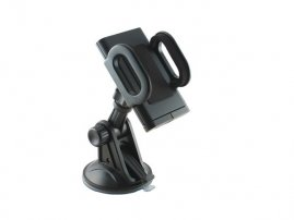 Universal Robust Bracket Windshield Mount with Anti-Slip Lock for iPhone / iPod / Cell Phones