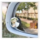 Motorcyce / Truck / Car Blind Spot Frameless Mirror (120 Degree Convex Mirror, 30&degFisheye Effect