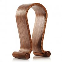 U-Type Wooden Headphones Display Rack / Hanger Stand