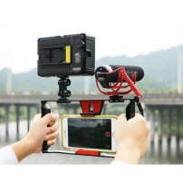 iPhone / Smartphone Filmmaking Recording Vlogging Rig Case / Movie Mount