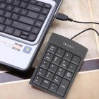Slim Portable 19-Key USB Numeric Keypad / Mini Number Pad for Windows 10, Windows 7