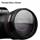 QZSD Multi-Coated 52mm Close-Up Lens Filter / Macro Lens Optical Filter +8