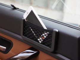 Nylon Net Back / Adsesive iPhone / Smartphones / Smart Card / Ticket String Bag for Auto / Car