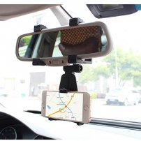 SUV / Truck / Auto Rearview Mirror Mount / Bracket for SmartPhones / iPhone / GPS