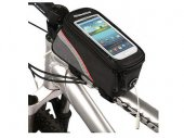 Bike / Bicycle Top Tube Belt Bag with 3.5mm Aux. Cable for 4.8 inches Screen