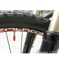 Anodized Aluminum Alloy Bicycle, BikeTire, Valve Cap / Dust Cover, French Style / Presta Valve