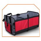 Premium Trunk Organizer Basket with Multiple Compartment Foldable