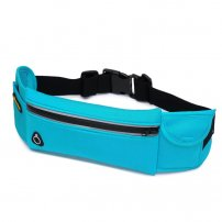 Sports Waist Pack / Waist Bag with Earphone Hole for Travel / Workouts