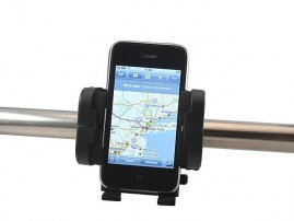 Universal Bike Handle Bar Mount for iPhone / iPod / Samsung Galaxy / HTC / LG / Sony Smartphones