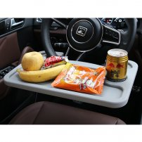 Car Steering Wheel Desk / Seat Back Mount for Notebook / Laptop and Writing and Snacks, Coffee, Tea