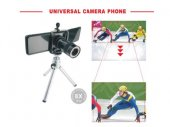 Universal Cell Phone 8X Telephoto with Tripod / Clip Holder