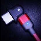 180° Rotatable USB-C 3A Fast Charging Cable for Charging and Gaming