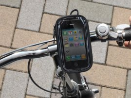 Universal Waterproof Bike Mounts For Cell Phones / PDAs
