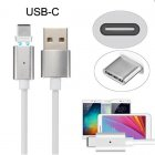 Magnetic USB Type-C (USB-C / USB 3.1) for Charging Cable for Androids Phones / Tablets