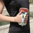 Multifunctional Water Repellent Hand Bag Pack for Cellphones & Bottle Holder for Running, Jogging