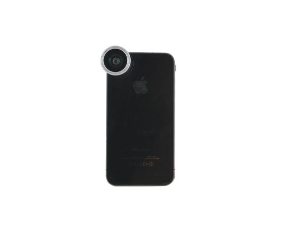 Magnet Attachment 0.28x / 180&deg Fisheye (+ Macro) Lens for iPhone / iPad / Samsung Galaxy Phones - Click Image to Close