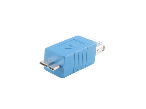 USB 3.0 Adapter (Micro B Male to A Female Converter)