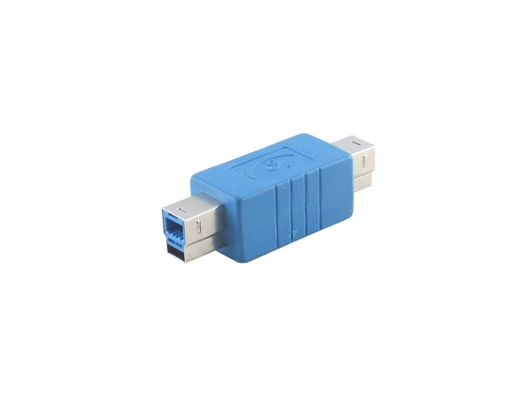 Straight USB 3.0 B Male to B Male Adapter / Extender / Converter (Printer Connector)