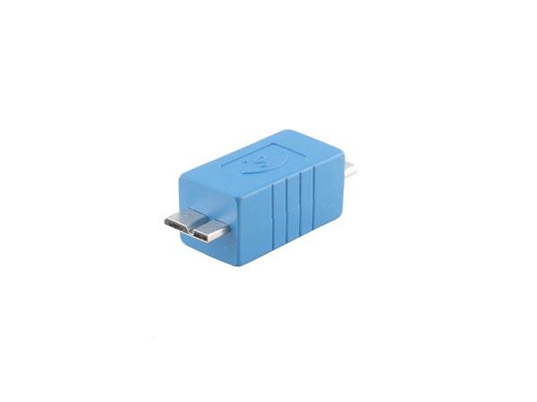 Straight USB 3.0 Adapter (Micro B Male to Micro B Male Converter)