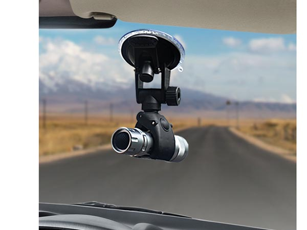Car Windshield Mount for Microphone / Blackbox / Torch / Tube / Recording Blackbox