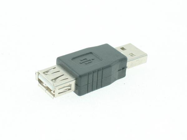 USB Adapter (USB A Male - USB A Female Extender / Converter)