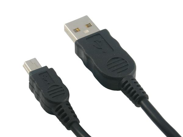 USB 2.0 Extension Cable (USB A Male - Mini USB Male Cable) - Click Image to Close