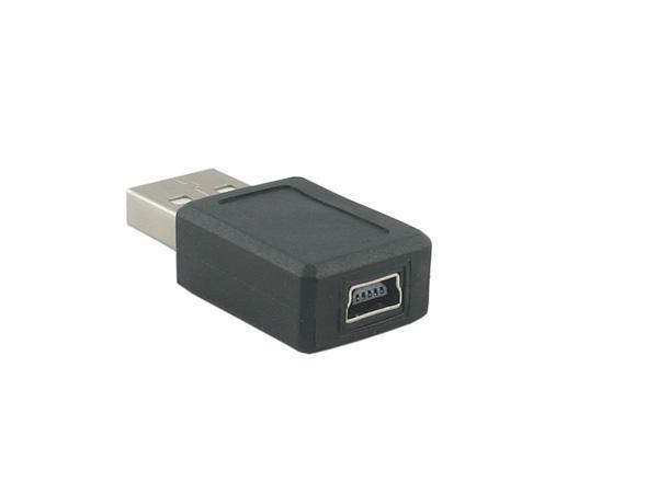 USB A Male to Mini USB Female Adapter / Converter