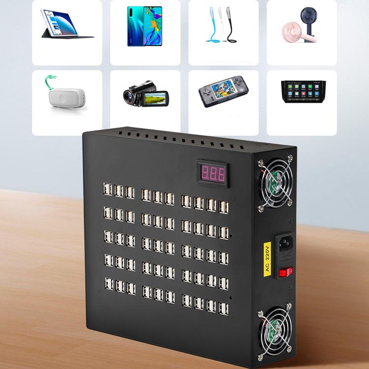 100-Port Desktop Giant USB Charging Station for Hotel / Conference / Club House / Service Centres