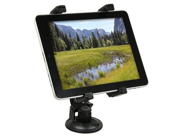 Universal Robust Auto Windscreen Mount for iPad Pro / iPad Air / iPad Mini / Microsoft Surface Pro