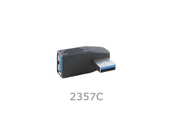 90 degree Left-Angled / Down-Angled / Up-Angled / Right-Angled USB 3.0 A Male to A Female Adapter