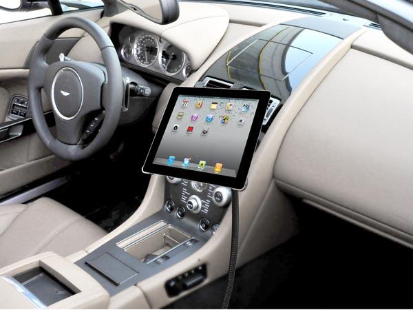 Flexible Car / Truck Seat Bolt / Floor Mount for iPad / Galaxy Tabs / Galaxy Notes / Kindle Tablets