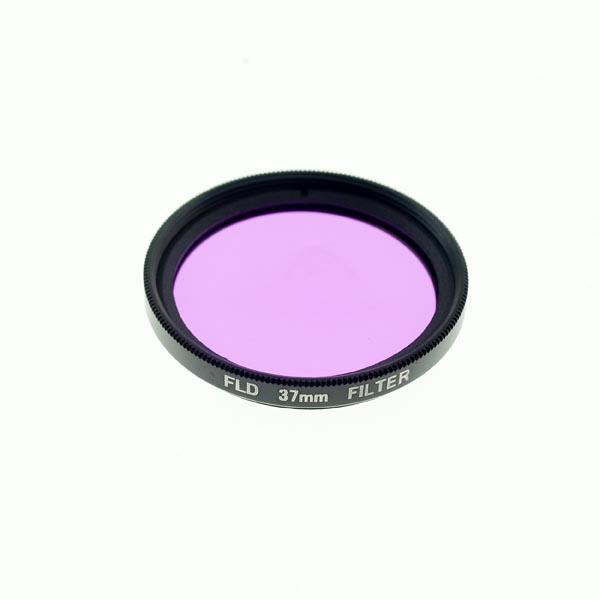 37mm FLD Filter Lens (Purple FL-D Filter Lens / Fluorescent Lighting Daylight Filter Lens)