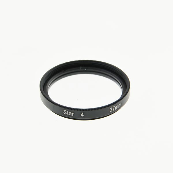 37mm Cross Star Filter Lens 4 Points