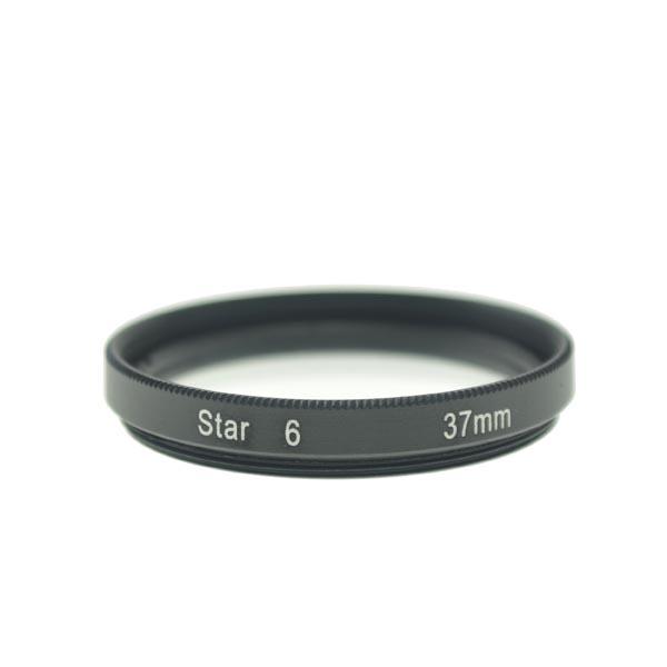 37mm 6-Point Star Effect Glass Filter Lens