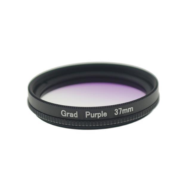 37mm Thread Graduated Green Lens Filter