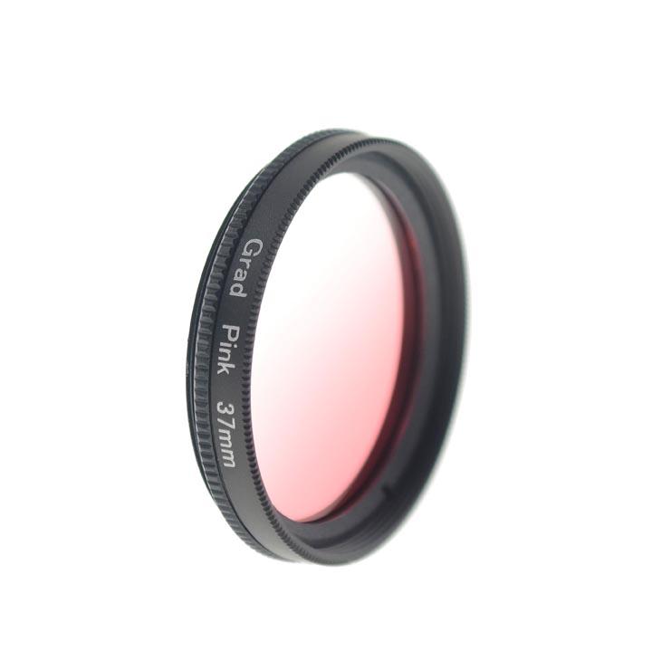 37mm Graduated Pink Lens Filter