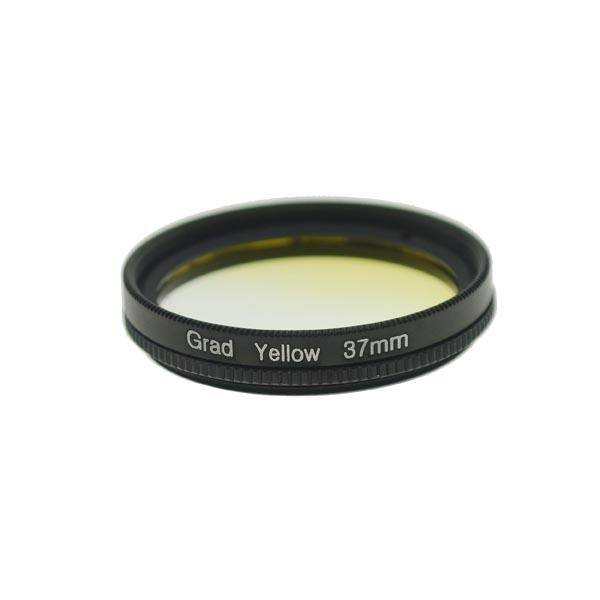 37mm Thread Graduated Yellow Lens Filter