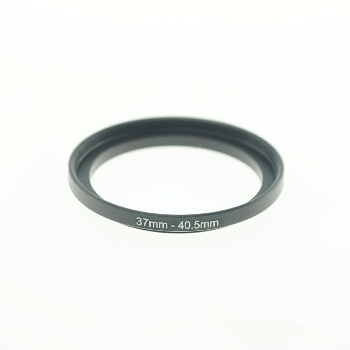 Photography 37mm to 40.5mm Step-Up Lens Adapter Ring For Filters