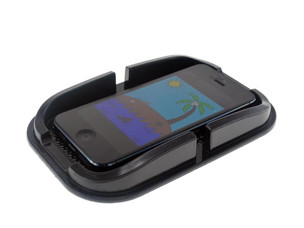 Sticky Anti-Shock Holder / Tray for Cellphone / iPhones / Smart Phone / Accessories on Dashboard