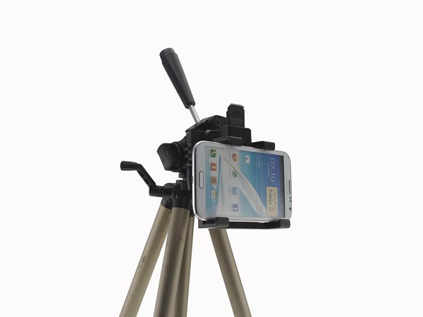 iPhone XS Max / Galaxy Note 9 / Phablet Phone Holder / Mount with Adapter for Pro Camera Tripod