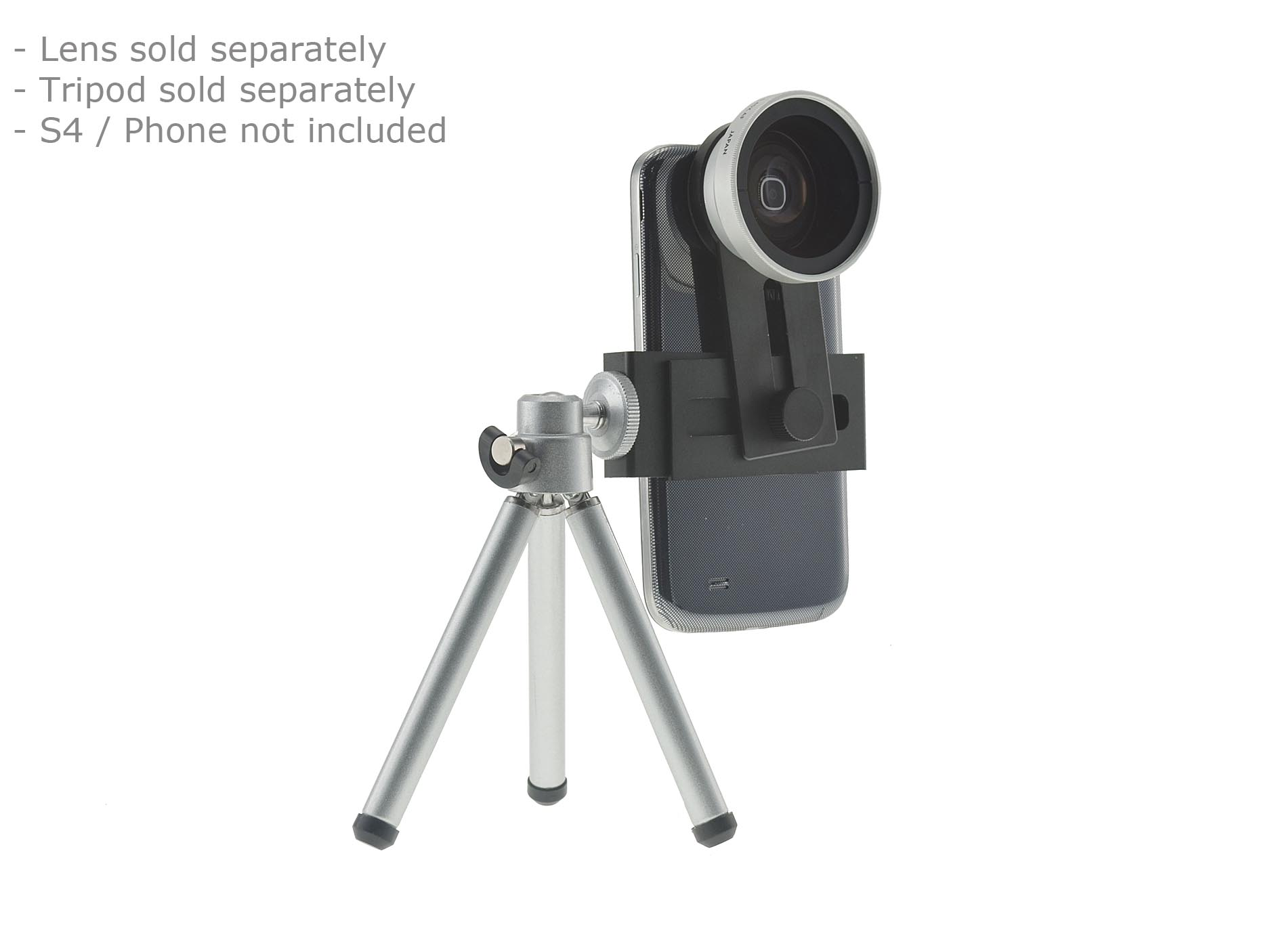 Conversion Adapter Kit for using 37mm SLR Lenses on Galaxy S10 / Galaxy Note 9 / iPhone Xs Max, XR