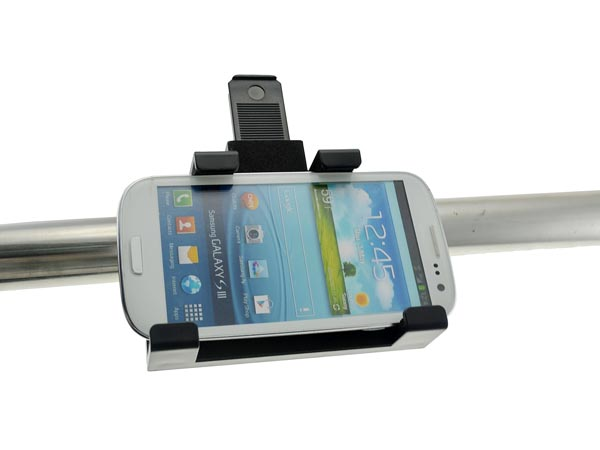 UNIVERSAL Motorcycle Handlebar Mount for Phablet (iPhone 8 Plus / Galaxy Notes)