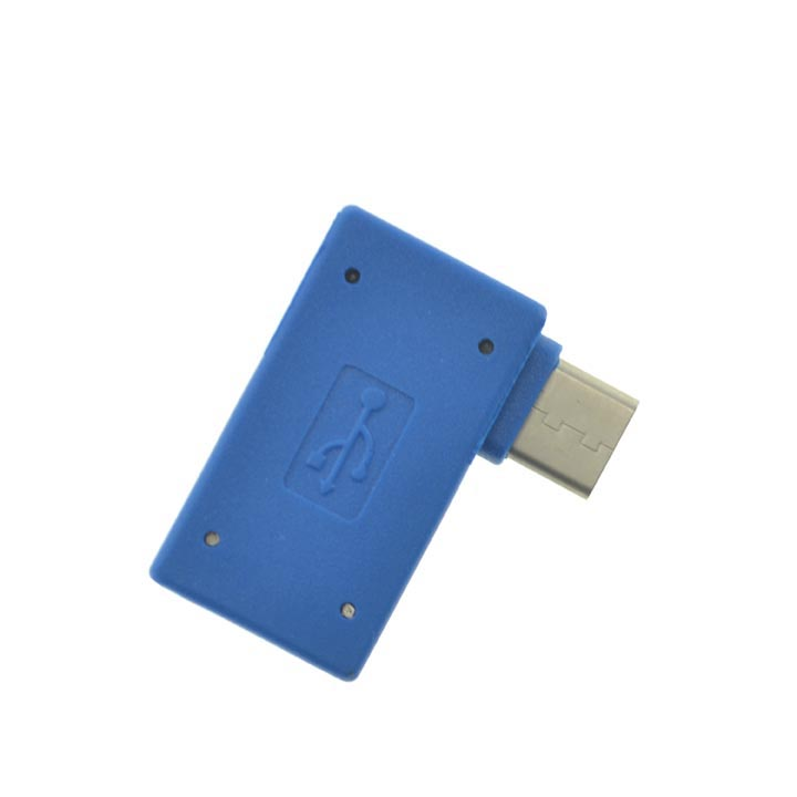 USB 3.0 Super Fast Angled OTG Adapter for Samsung Galaxy Note 8 / Galaxy S9 / S9 Pus Android Phones