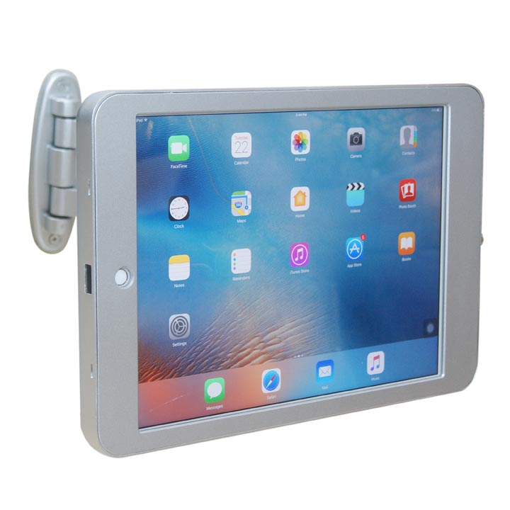 Anti-Theft Locking Enclosure for iPad / Tablet Wall Mount for Retail Shop, Lobby, Conference Room